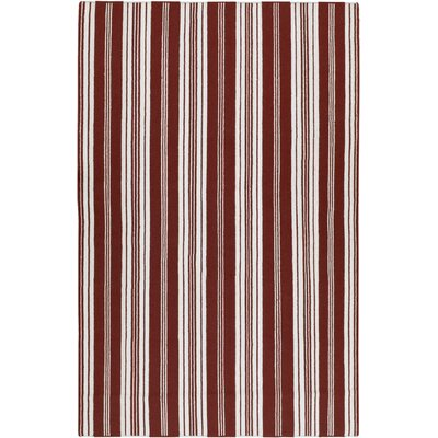Country Living™ by Surya Farmhouse Stripes Red Rug