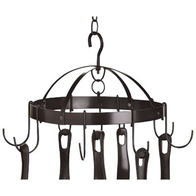 Zingz & Thingz Compact Kitchen Hanging Pot Rack