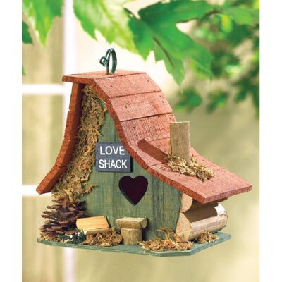 Zingz & Thingz Birdy Love Shack House