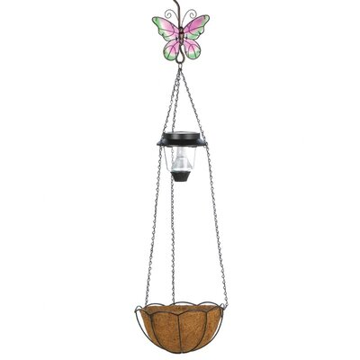 Light-up Butterfly Hanging Basket