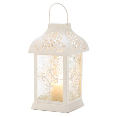 Zingz & Thingz Romantic Lace Candle Lantern