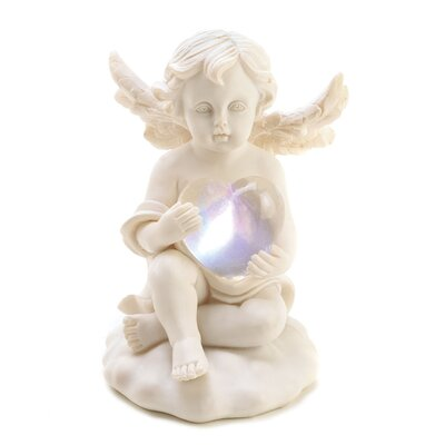 Zingz & Thingz Radiant Heart Cherub Figurine