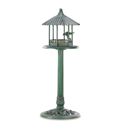 Zingz & Thingz Verdant Pavilion Bird Feeder