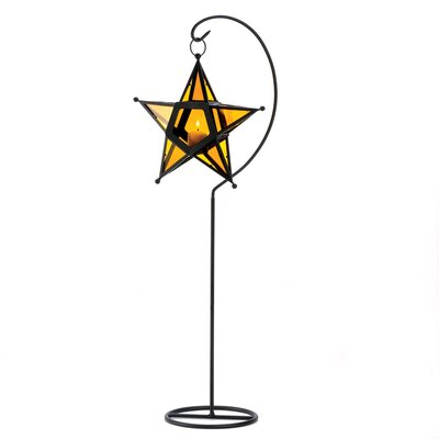 Zingz & Thingz Golden Starshine Tabletop Lantern
