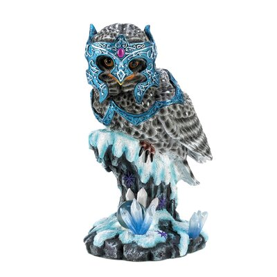 Zingz & Thingz Medieval Armored Owl Figurine