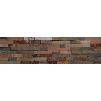 Faber Nevada Ledge Stone Split Face Random Sized Wall Cladding Tile in Mix Rustic