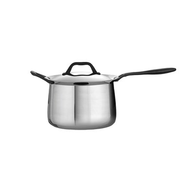 Limited Edition Butterfly Stainless Steel 4-qt. Saucepan with Lid