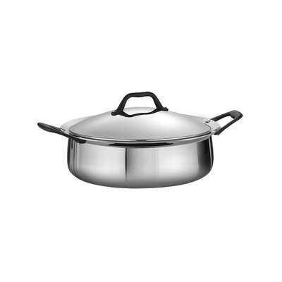Tramontina Limited Edition Butterfly Stainless Steel 5 1/2-qt. Casserole