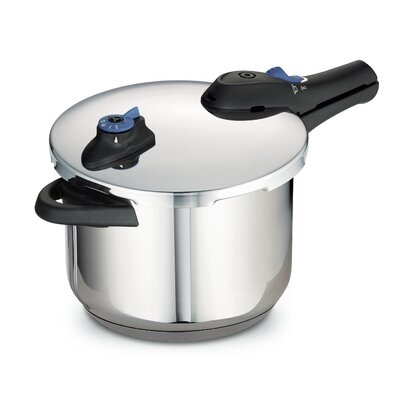 Style Stainless Steel Tri-Ply Base Pressure Cooker