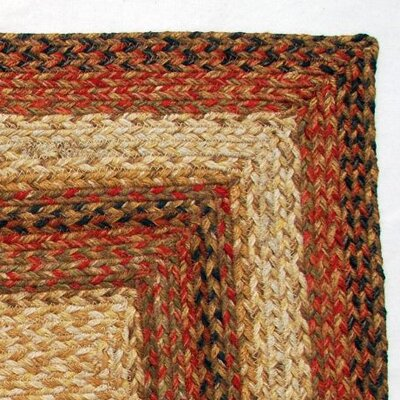Green World Rugs Rectangular Russet Stair Treads
