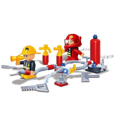Banbao Fire Brigade 58 Piece Fireman Block Set
