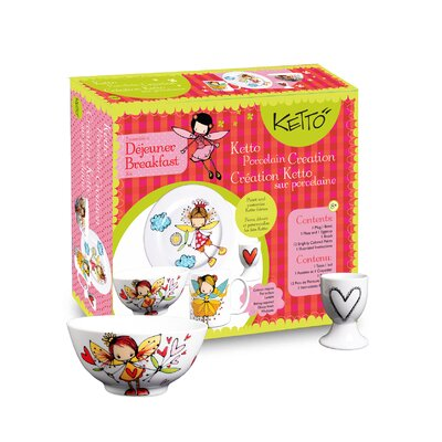 Ketto; Ketto Design Paint-It-Yourself Fairy Breakfast Set