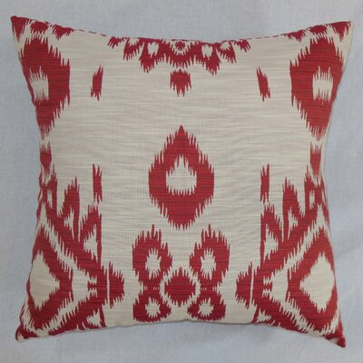 The Pillow Collection Gaera Ikat Cotton Pillow