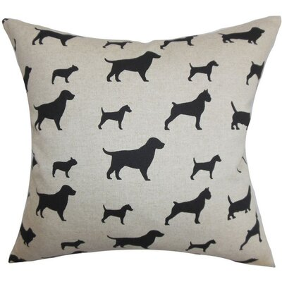 The Pillow Collection Chablis Animal Print Pillow