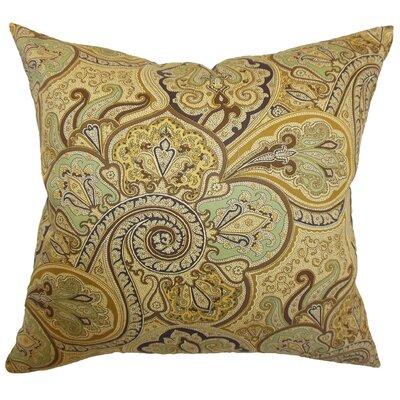 Saewara Paisley Cotton Pillow