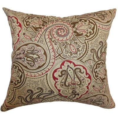 Xandraya Paisley Cotton Pillow