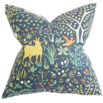 The Pillow Collection Elihu Floral Pillow