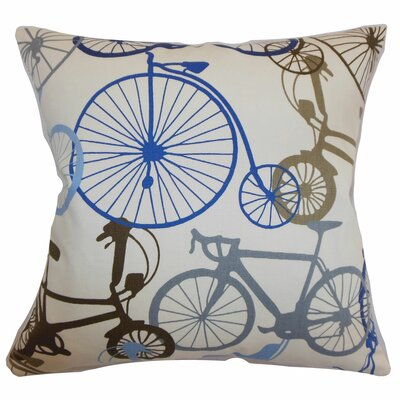 Echuca Bicycles Cotton Pillow