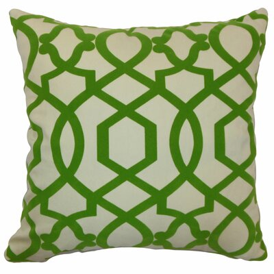 Maeret Moorish Tile Cotton Pillow