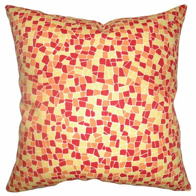 Bentlee Mosaic Tile Cotton Pillow