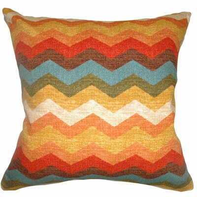 Gail Zigzag Cotton Pillow