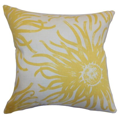 <strong>The Pillow Collection</strong> Ndele Floral Cotton Pillow