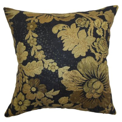 Earlena Floral Silk Pillow