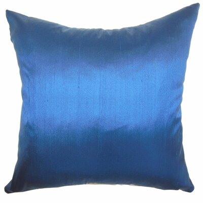 The Pillow Collection Fanceen Plain Silk Pillow