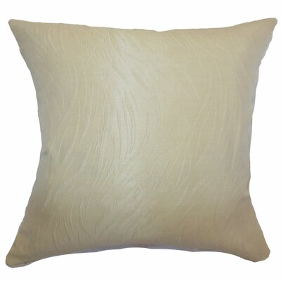 Nichola Plain Silk / Polyester Pillow