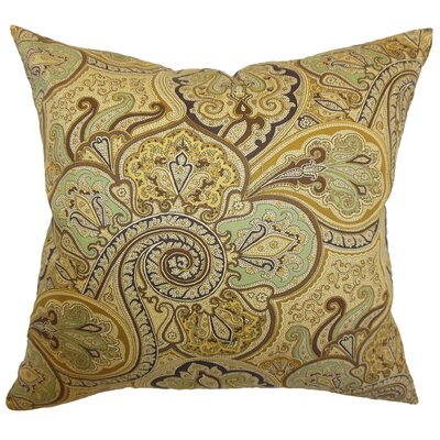 Saewara Paisley Cotton Pillow