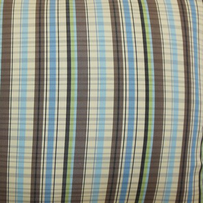 The Pillow Collection Octavia Stripes Cotton Pillow