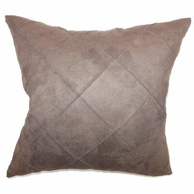 Nesbitt Plain Faux Suede Pillow