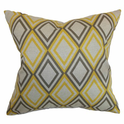Eirunepe Geometric Cotton Pillow