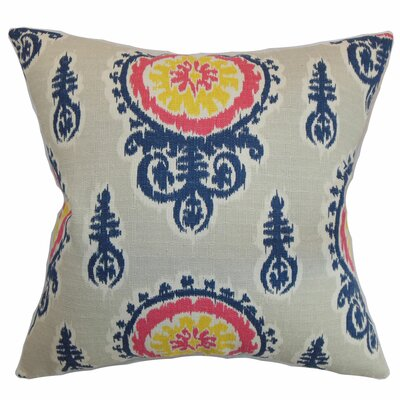 Oenpelli Floral Cotton Pillow