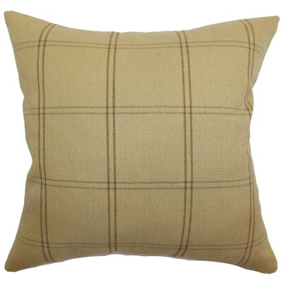 Tambia Plaid Polyester Pillow
