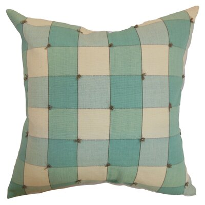 Geneina Plaid Pillow