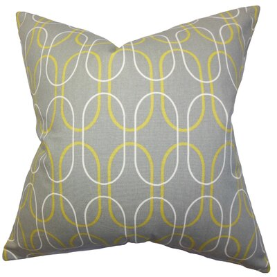 The Pillow Collection Ickitt Geometric Pillow