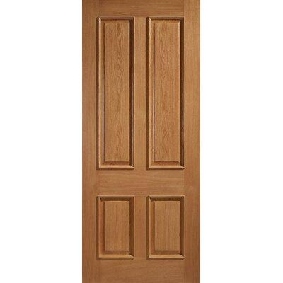 Idaho Pre Finished Oak Interior Door Wayfair Uk