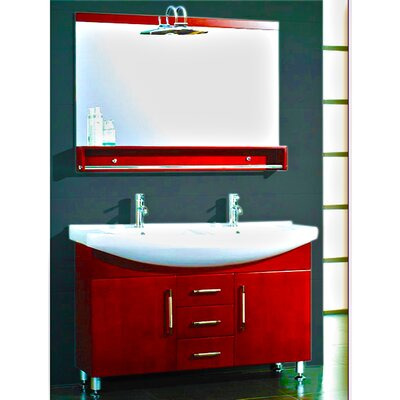 Virtu Gloria  Double Bathroom Vanity Set With Mirror Reviews