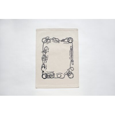 Ortolan LLC Sailor Knots Tea Towel