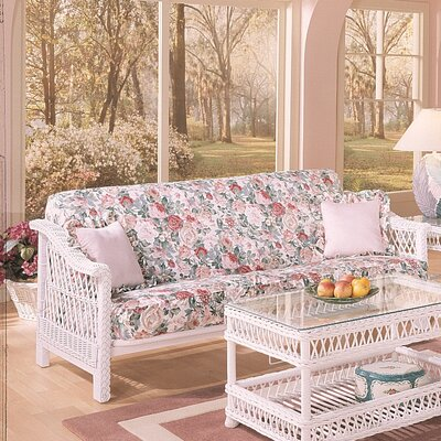 Spice Islands Wicker Bar Harbor Futon Frame