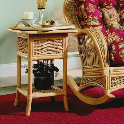 Spice Islands Wicker Serving Table