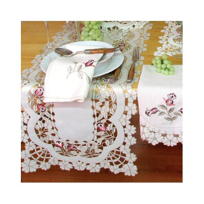 Rose Garden Runner and Napkin Set