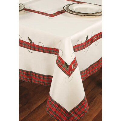Tartan Ribbon Table Cloth