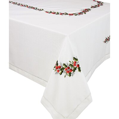 Holly Berry Table Cloth