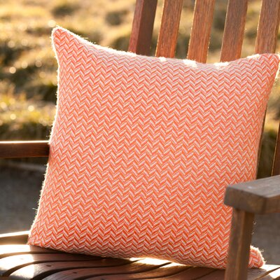 Asher Market Tangerine Alpaca Throw Pillow