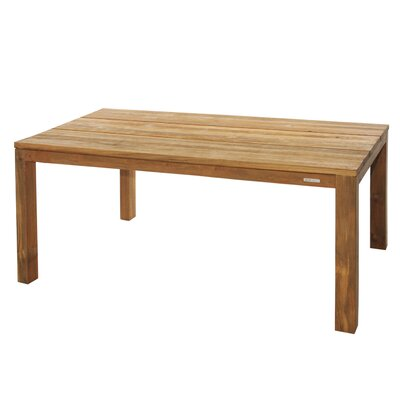 Vigo Dining Table with Teak Frame