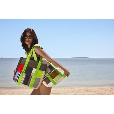 Mamagreen Accents Beach Handbag