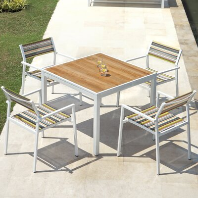 Mamagreen Allux 5 Piece Dining Set