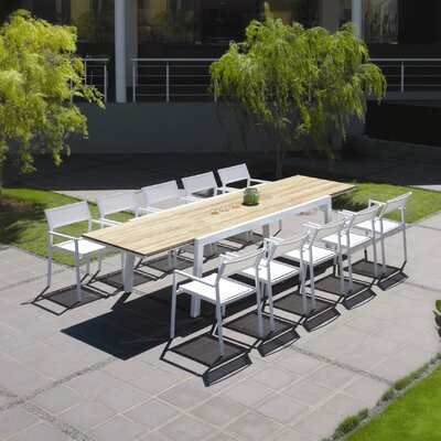 Mamagreen Baia 11 Piece Dining Set
